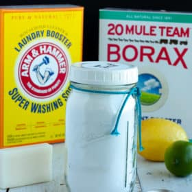 Homemade Laundry Detergent {All-Natural