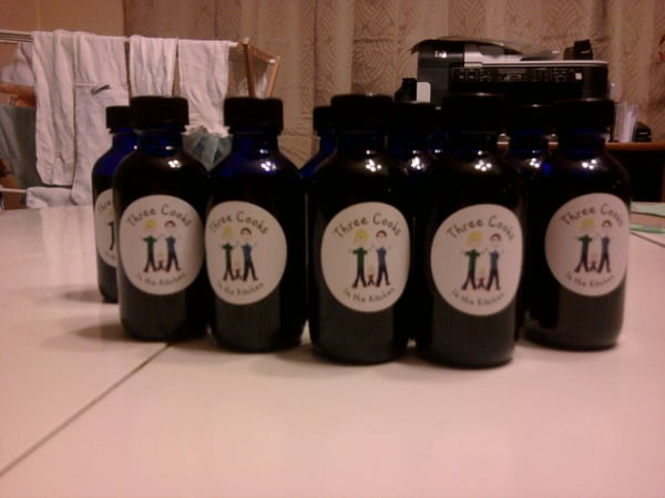 Vanilla extract – 4 months later
