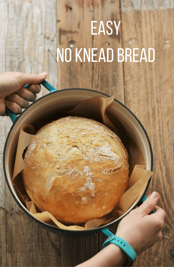 Super easy No Knead Bread. No Knead Bread has a short ingredients list and requires only a few baking tools. Perfect for new bakers.