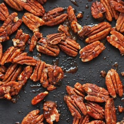 Candied Pecans – Easy Candied Nuts