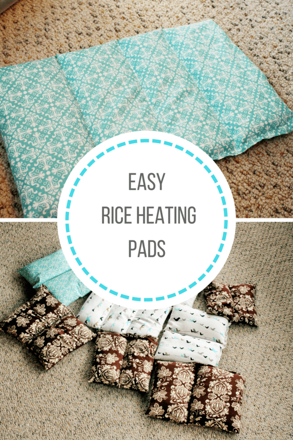 Easy tutorial for DIY rice heating pads that are perfect for any beginning sewer. These rice heating pads can be used hot or cold.