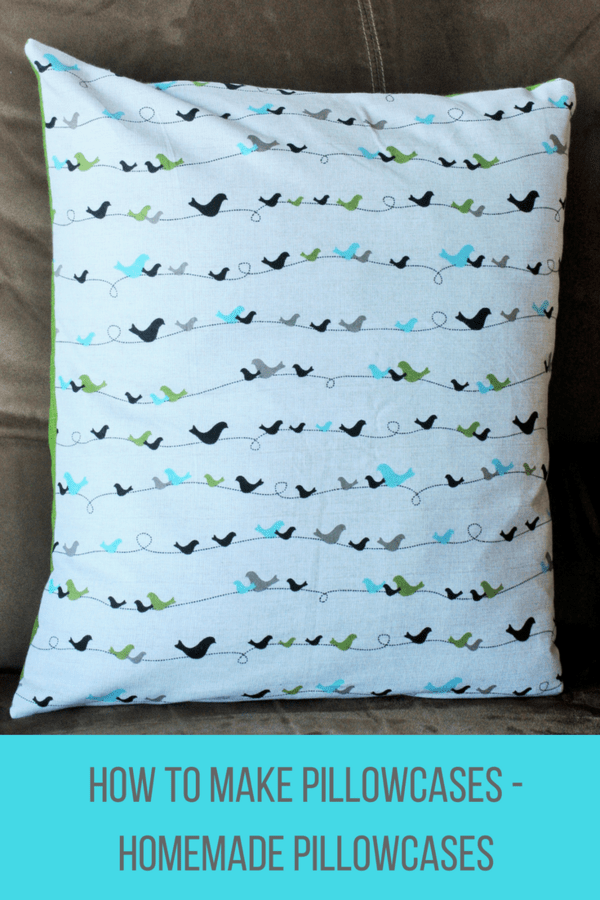 Learn how to make pillowcases in this photo tutorial designed for beginning sewers. Make beautiful pillow covers for throw pillows.