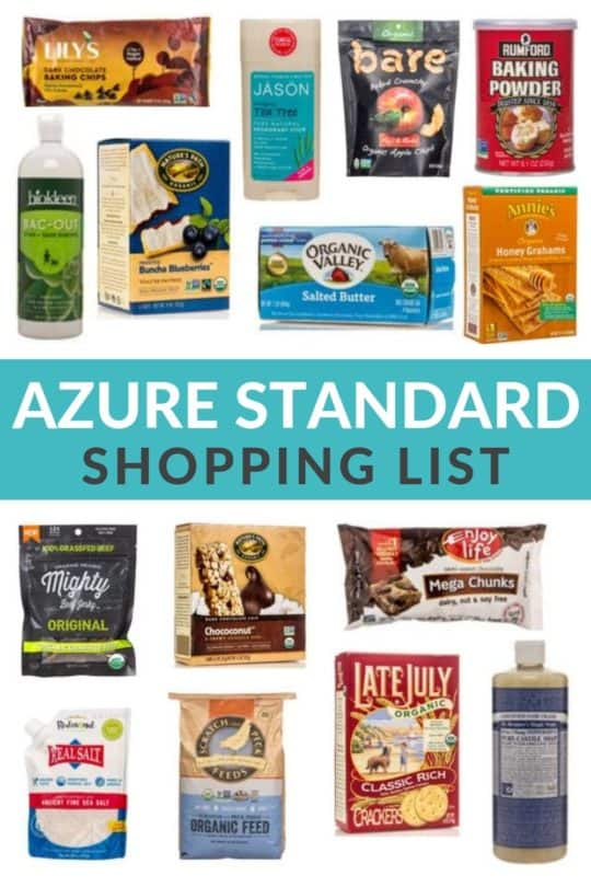 1ef625430 Azure Standard Shopping List: Save Big Money on Organic Groceries