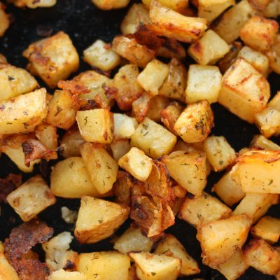 Home Fries – Cast Iron Skillet Potatoes
