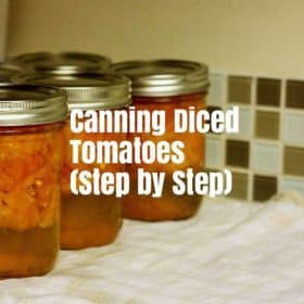 How to can diced tomatoes, DIY diced tomatoes, canning tomatoes at home