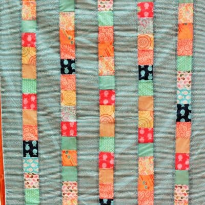 Homemade Holidays: Cheater Quilts