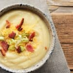 Healthy Baked Potato Soup With Instant Pot and Stove Top Options