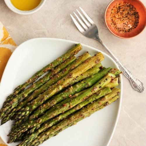 How To Roast Asparagus Three Ways Sustainable Cooks