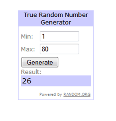 Winner of the Bogs giveaway