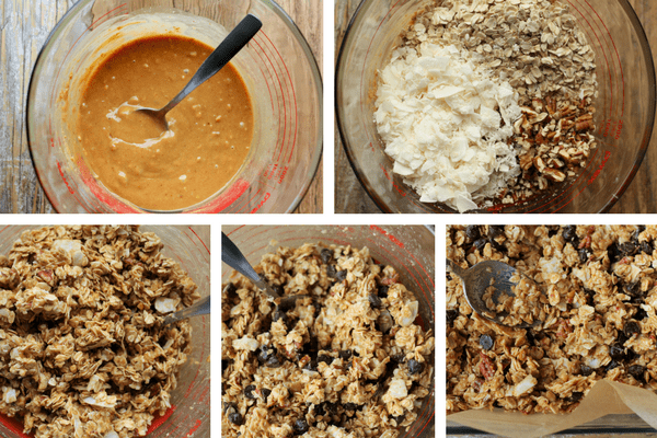 5 pictures of homemade granola bars | sustainablecooks.com