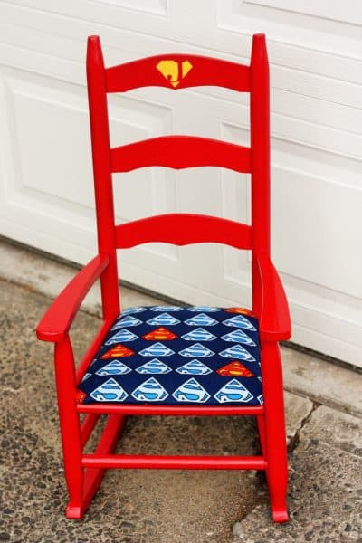 DIY Superman Chair