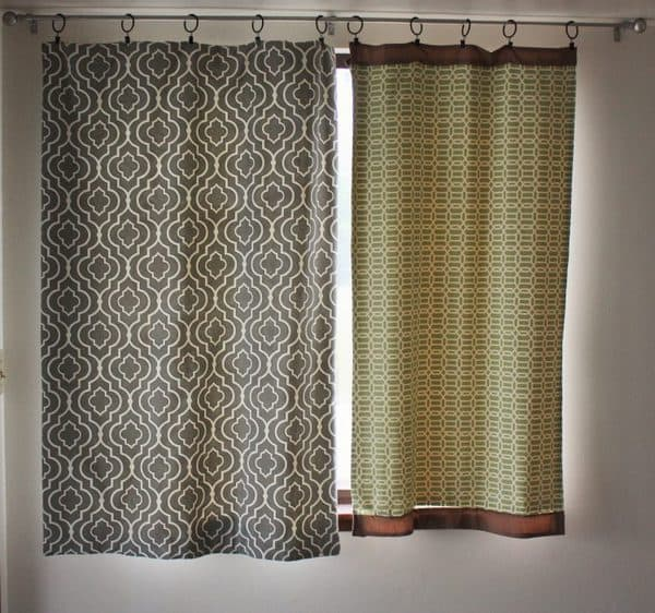 diy insulated curtains - how to create insulated/blackout curtains