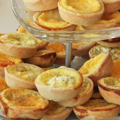 Mini Quiche – Clutch Your Pearls and Pinkies Out