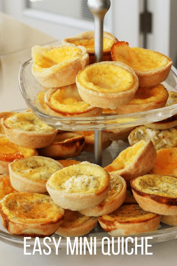 Mini quiche is a delicious make-ahead meal that is the perfect quick breakfast or fancy appetizer. Serve fresh or freeze for later.