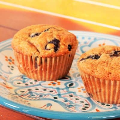 Blueberry Muffins – Delicious, Healthy, and 100% Whole Wheat