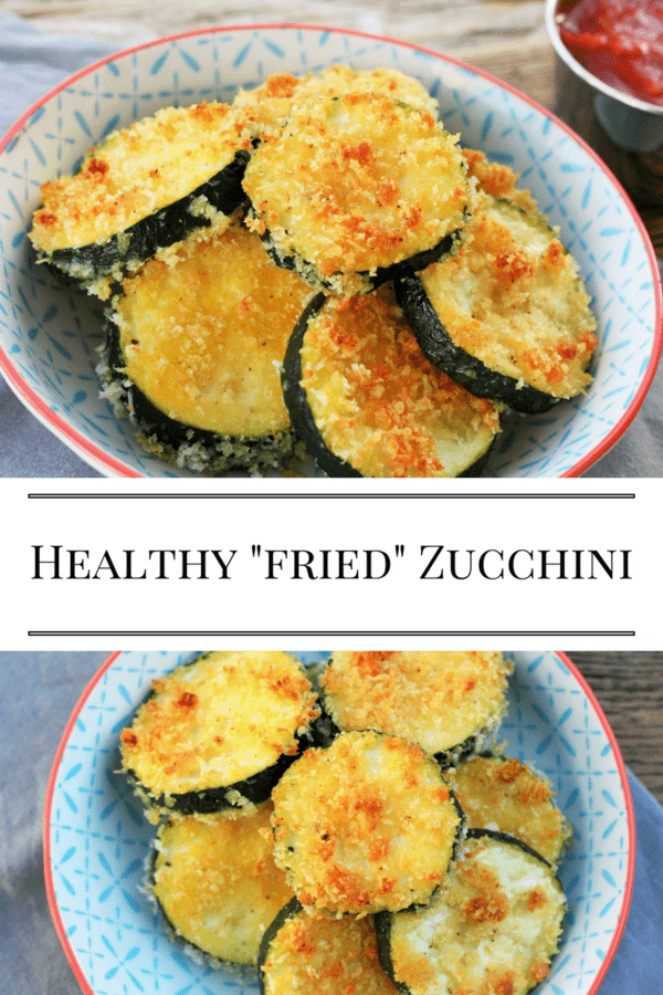 Healthy fried zucchini the whole family will love. These healthy oven-fried zucchini rounds make you feel like you're eating something naughty.