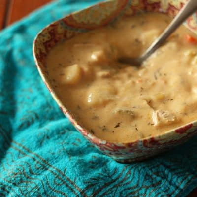 Chicken Gnocchi Soup. Comfort for Comfort's Sake