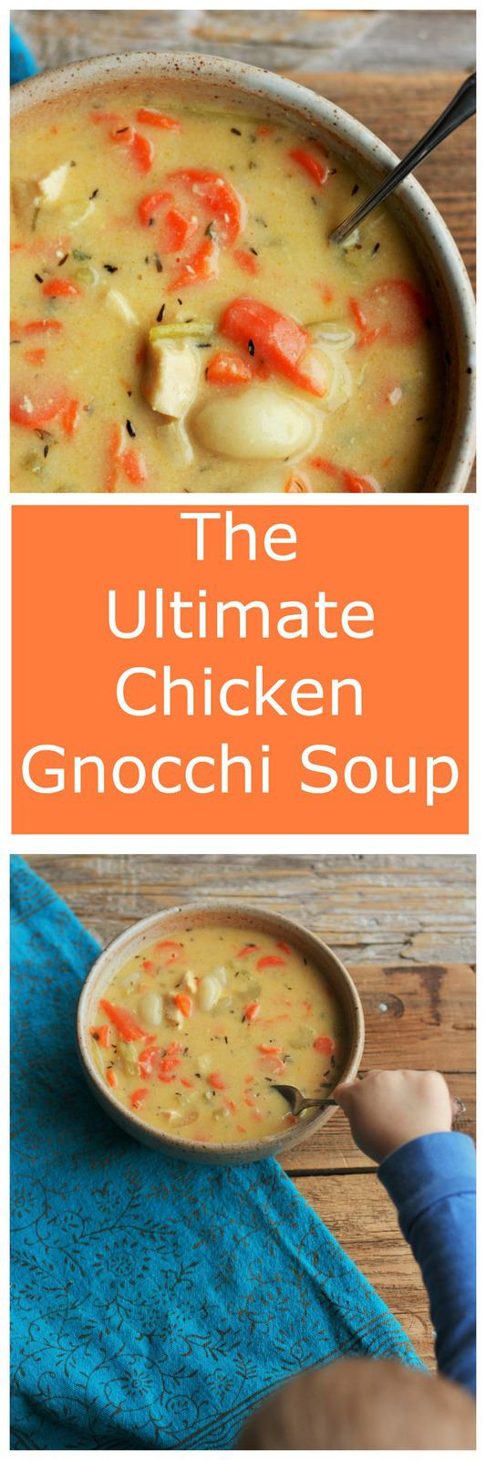 Chicken Gnocchi Soup is the ultimate healthy comfort food. Loaded with vegetables and packed with flavor, Chicken Gnocchi Soup is your new favorite food.