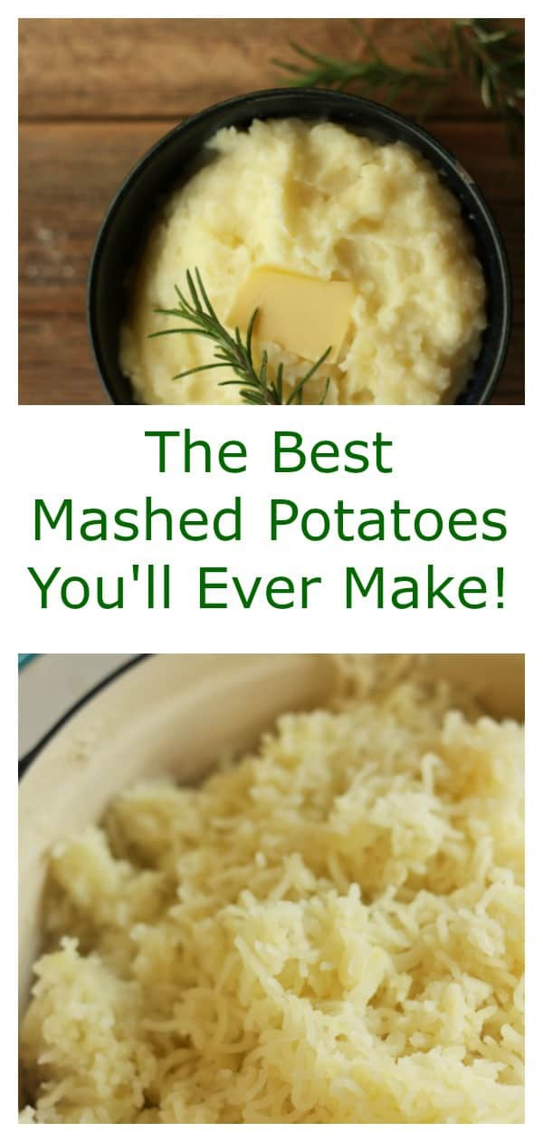 World's Best Mashed Potatoes! Learn the five simple secrets to the fluffiest, most delicious mashed potatoes you have ever had.