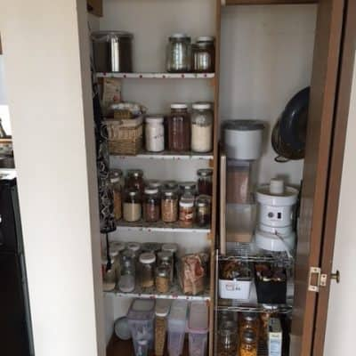 Old School Jams – Pantry Organizing