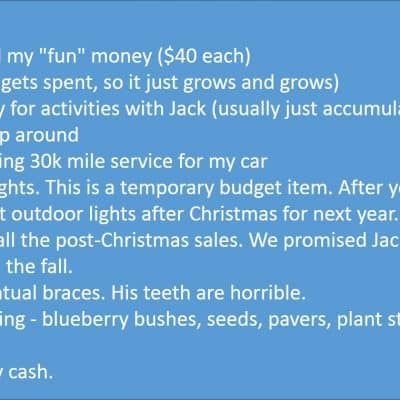 Old School Jams – Budget