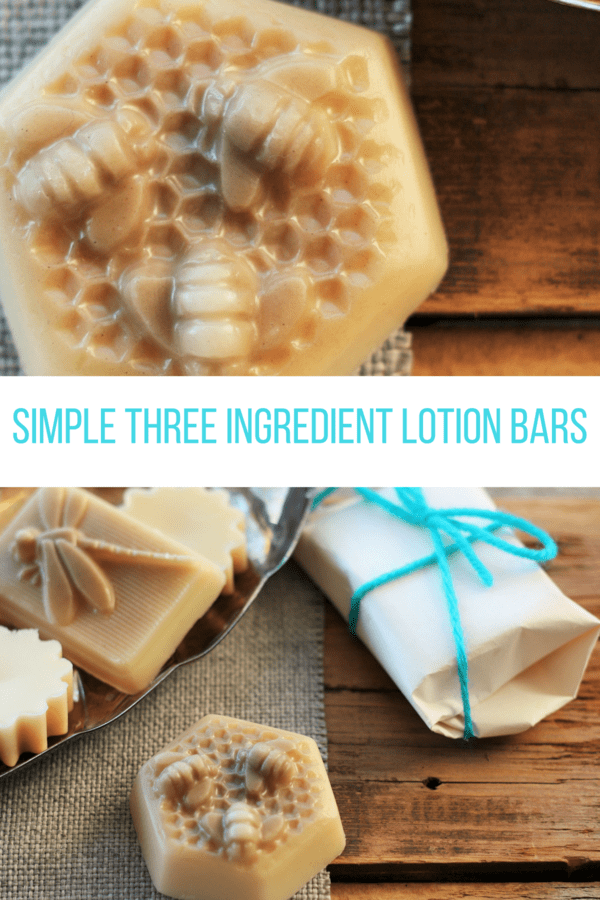 three ingredient lotion bars - frugalchoice, cheapnecessity