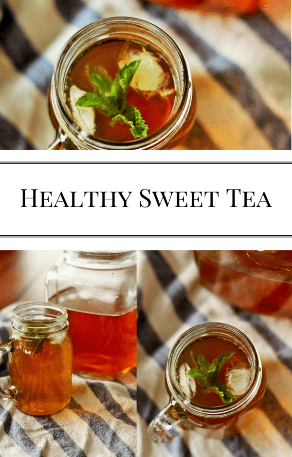 Healthy sweet tea that uses honey instead of buckets of refined sugar. One simple ingredient produces a strong tea taste without the bitterness.