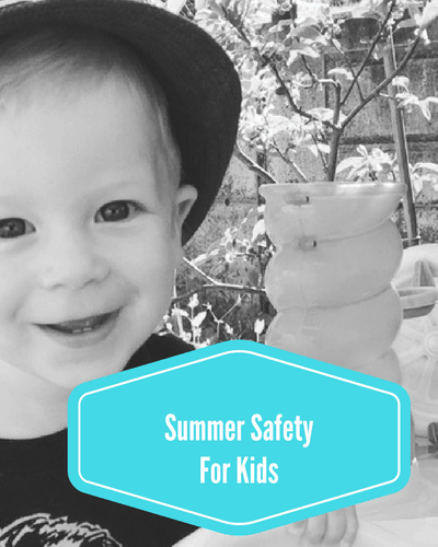 Summer Safety For Kids