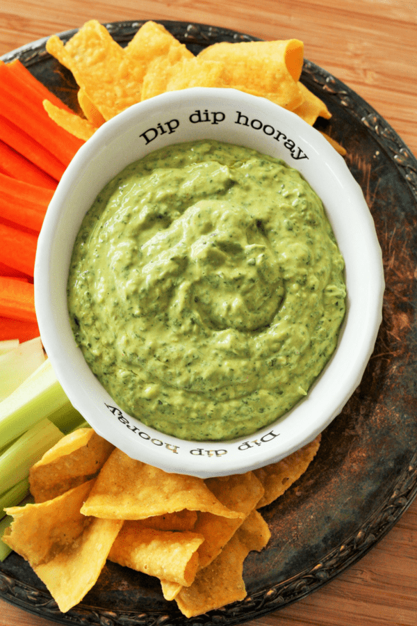 Healthy Five Minute Smoky Avocado Dip With Cilantro. Your new favorite go-to recipe for last minute parties, barbecues, and midnight snacks.