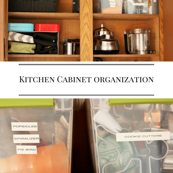 Kitchen Cabinet Organization How I Fixed My Storage