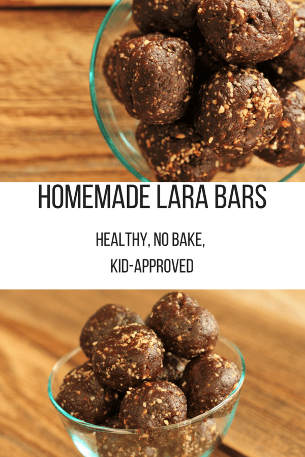 Homemade Lara Bars are incredibly easy and super delicious. Just four ingredients gives you a healthy and fast gluten-free treat.