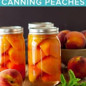 Canning Peaches - How to Can Peaches | Sustainable Cooks