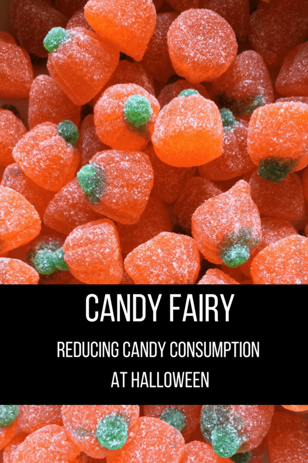 The Candy Fairy is a fun solution for less candy consumption at Halloween. The Candy Fairy allows kids to