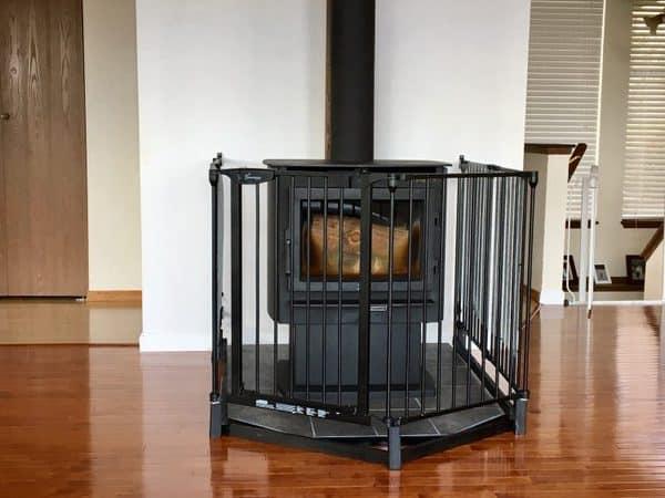 fireplace gate