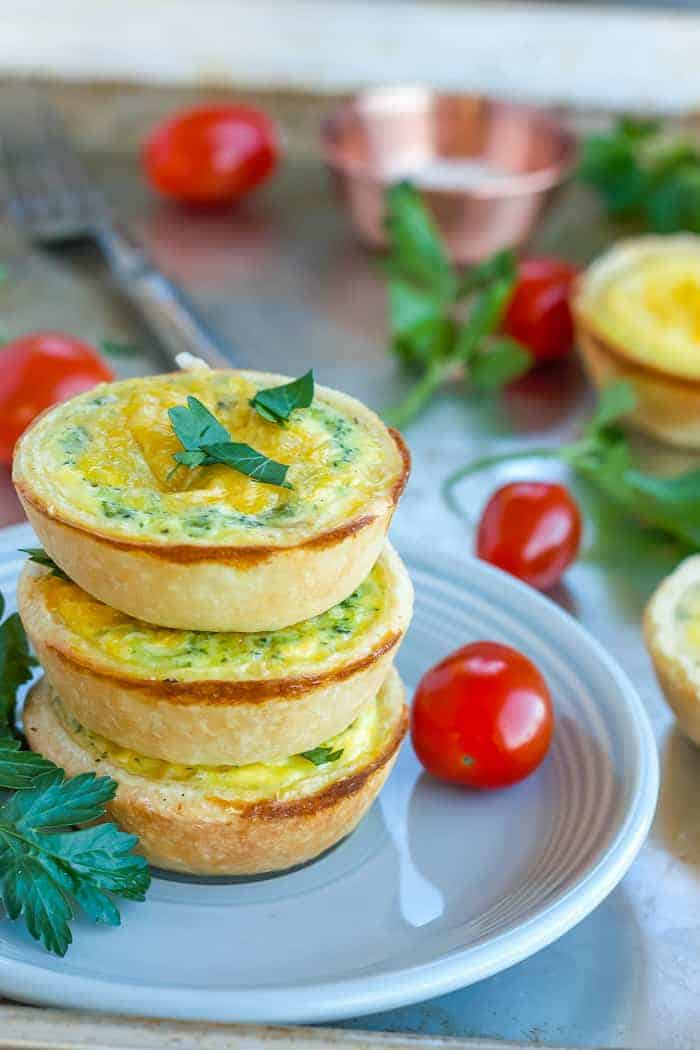 Mini Quiche Appetizers {Muffin Tin Quiche}