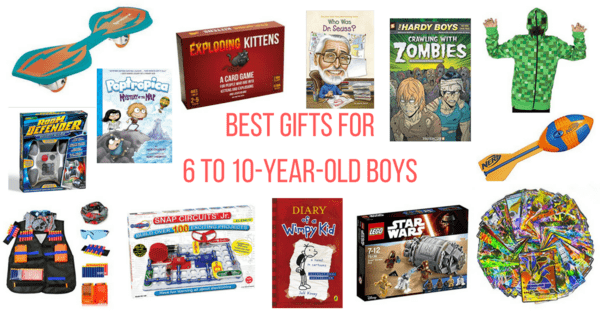 Best Gifts For 6 To 10-Year-Old Boys