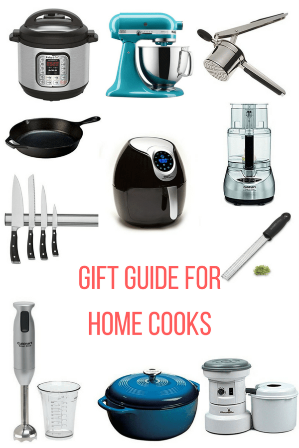 Gift guide for home cooks will help you find the perfect present for the foodie fanatic in your life. A mix of price ranges will fit any budget.