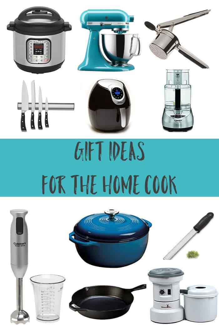 This Gift Guide for the Home Cook will help you find the perfect present for the foodie fanatic in your life. These 11 amazing gift ideas will make them happy!