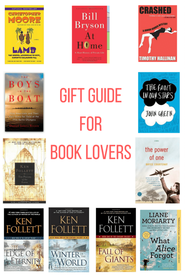 Gift guide for book lovers will help you find the perfect present for the bibliophile in your life. A mix of price ranges will fit any budget.