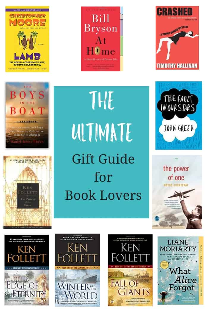 Gift guide for book lovers will help you find the perfect present for the bibliophile in your life. A mix of price ranges will fit any budget. #sustainablecooks #giftguide #booklovers #christmasgifts #hanukkahgifts