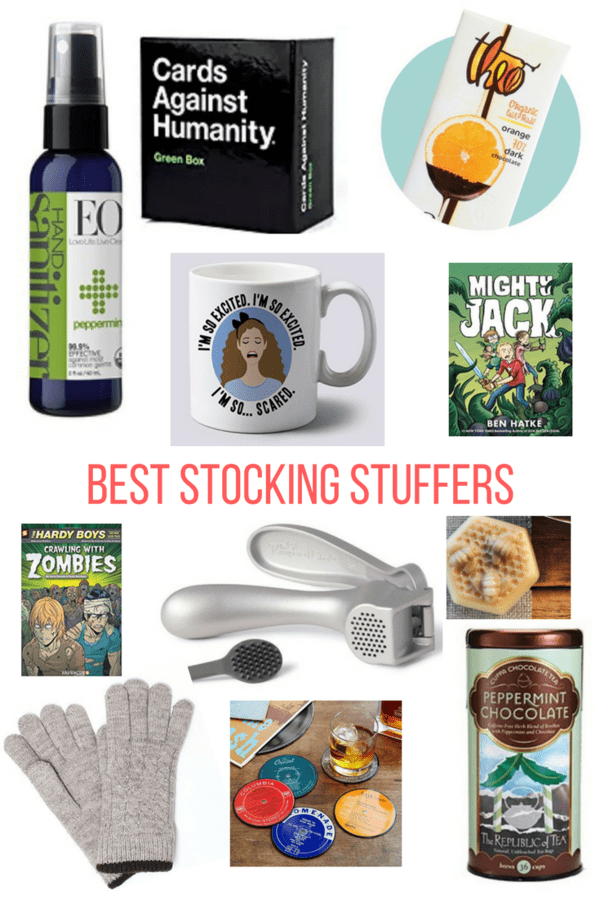 Best Stocking Stuffers for anyone on your holiday list this year. A range of prices and gifts will help you check off anyone on your list.