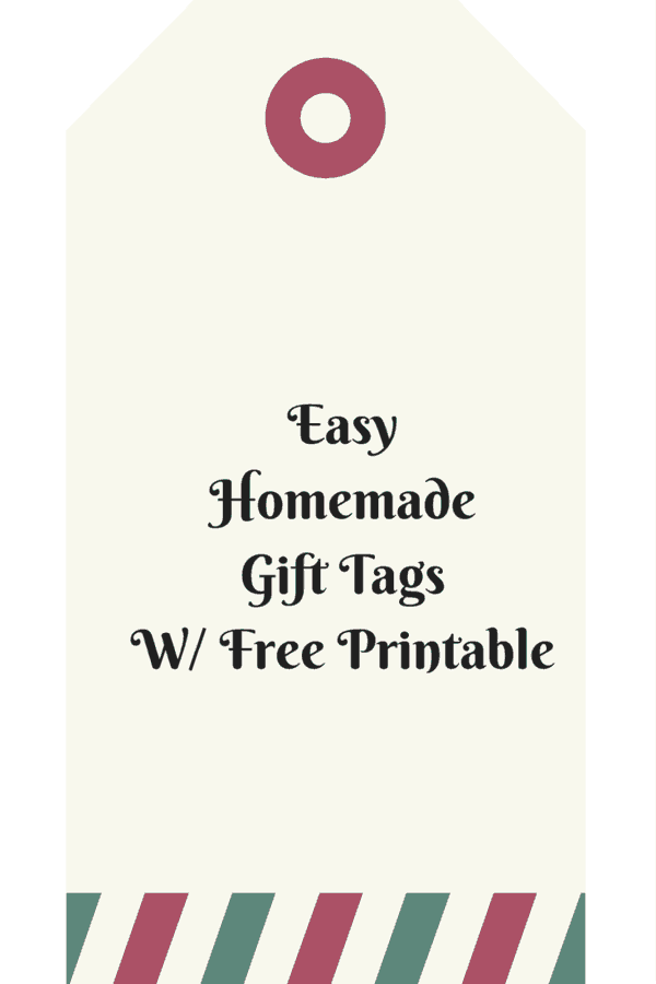 Easy Homemade Gift Tags are a simple and fast project that lets you create 500 personalized gift tags for under $20. The possibilities are endless!
