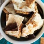 10 Minute S'mores Bark