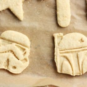 whole wheat sugar cookies