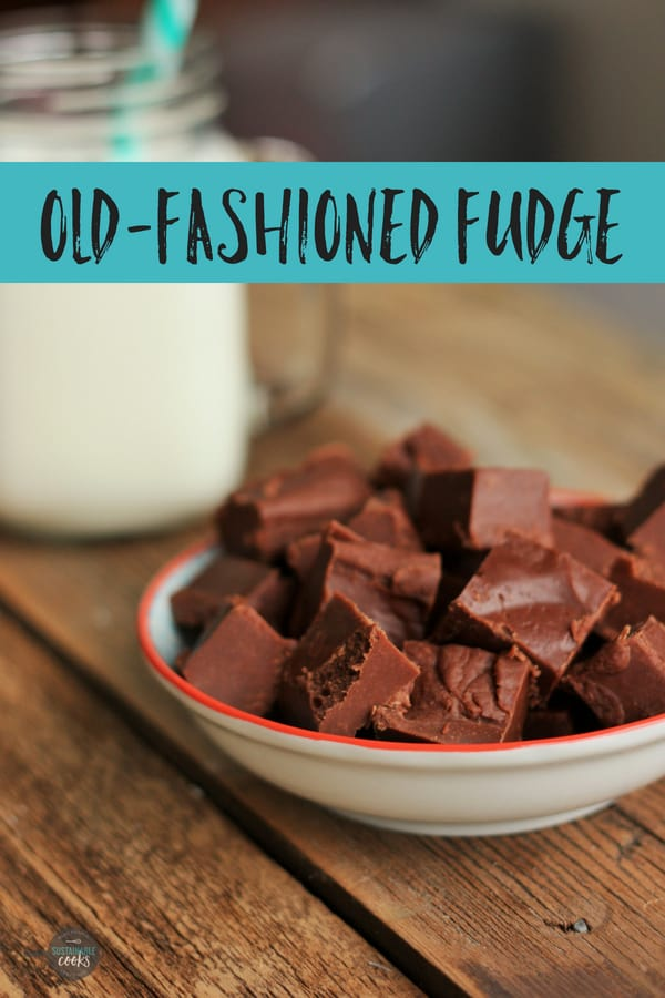 This Old-Fashioned Fudge recipe is so easy to make in under 20 minutes! Made from scratch with condensed milk, marshmallow, you'll love this rich chocolate fudge. #sustainablecooks #homemadefudge #oldfashionedfudge #chocolatefudge #easyfudgerecipe #christmasfudgerecipe
