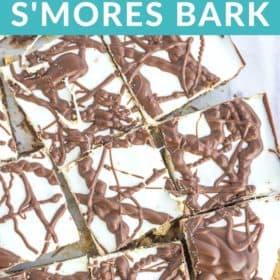 a tray of chocolate bark