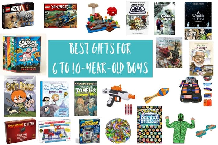 Holiday Gift Ideas For 6 10 Year Old Boys