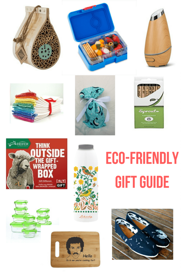 An eco-friendly gift guide to help you find the perfect present for the crunchy person in your life. A mix of price ranges will fit any budget.