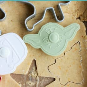 These are the best homemade Soft Whole Wheat Sugar Cookies ever! This easy recipe has a life-changing hack to make the dough so simple to roll out. #sustainablecooks #wholewheat #sugarcookies #christmascookies