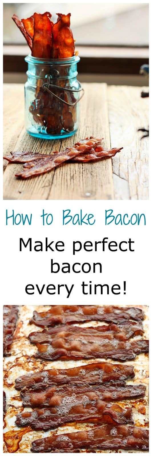 Learn how to bake bacon in this easy tutorial. Stop standing over a hot stove dodging hot oil and covering your kitchen in grease.